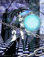 Black Rock Shooter Fan Art by GregoriusU