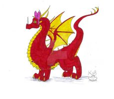 Smaug by Scellanis