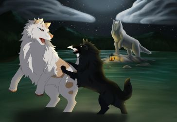 Felvargs- Battle time Collab! by deadlylupine