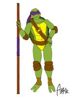 Crossverse Donatello (Colored) by AstroBlacke