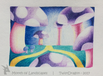 Magical Trip | Month of Landscapes | Day 2 by TwistDragon