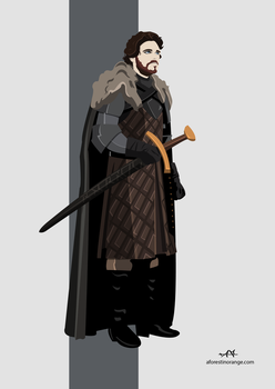 Robb Stark (GoT) by FeydRautha81
