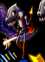 Papyrus prepares for battle by DSakanumbuh419