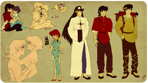 MORE RANMA july 2011 by wickedevilbunny