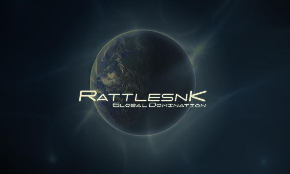 RattlesnK Title Screen by BashGfX