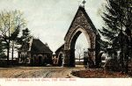 Vintage New England - Oak Grove Cemetery by Yesterdays-Paper