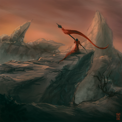 Red Canyons by Hydraw-Art