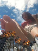 Giantess Ariela: The Goddess of Destruction 2 by KingKoopz123