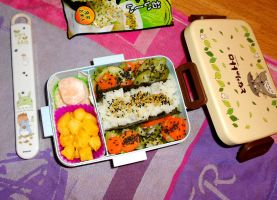 First Bento of November by Tabascofanatikerin