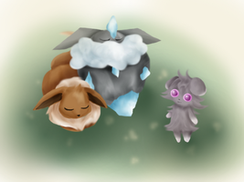 EEVEE, CARBINK, AND ESPURR