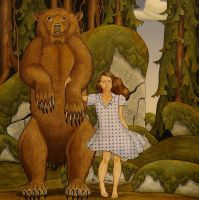 E and the Bear edit 2 by opiumtraum