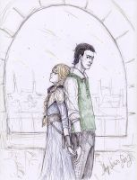 Loki and Sigyn 2 by Sanzo-Sinclaire