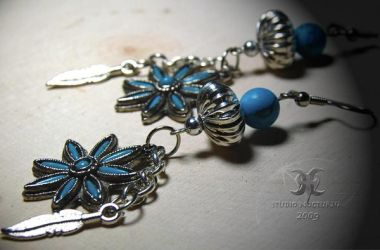 turquoise and silver by StudioNocturna