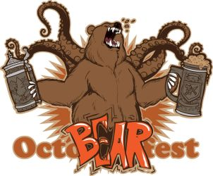 OCTO-BEAR-fest shirt design! by Drunkfu