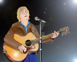 John Denver by roycarubia
