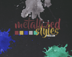 Metallized Styles   ASL   By Porcelain by ItsPorcelain