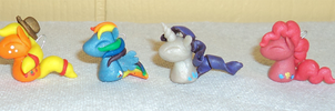MLP FSIM Mane Six Charms by The-Clockwork-Crow