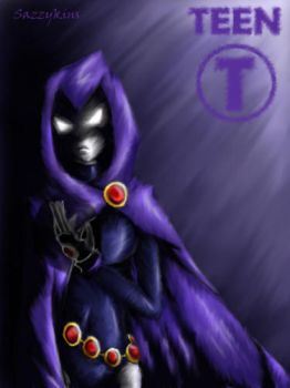 TT: Save The Titans - Raven by sazzykins