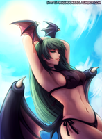 Morrigan, by Dianamoonfall by Antsstyle
