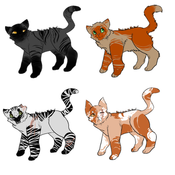OPEN 2/4 Cat adopts by OverLord-Adopts
