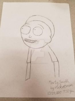 Morty Smith - Bust by rocketman732