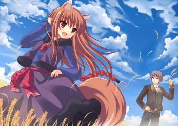 Spice and Wolf by pcmaniac88