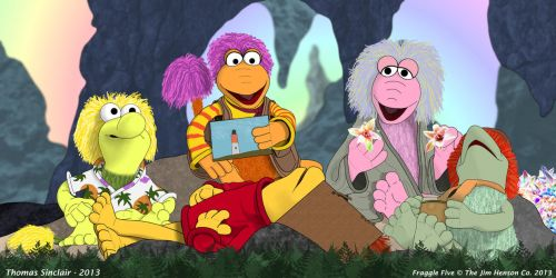 Fraggle Five In Wonder Cave by TomFraggle