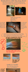 How To Dye a Wig Tutorial. NEW METHOD. by BloodlustDetox