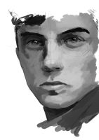 Portrait of young man by Kenku-0