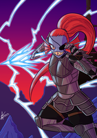 Undyne by Veguito2b
