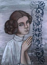 Princess Leia by spelleria