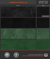 Chalkboard Pattern 1.0 by Sed-rah-Stock