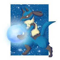 Lucario by Colonel-Chicken