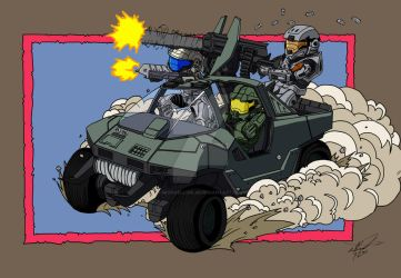 Halo: Legacy feat. Master Chief, Rookie, and Six by MichaelLinkJr