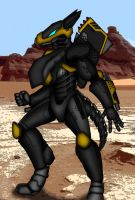 SUICIDE GARAGE: Kudo Mech Suit by TheGoldenCrowbar