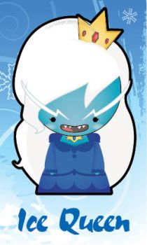 Adventure Time - Ice Queen by Nawledge