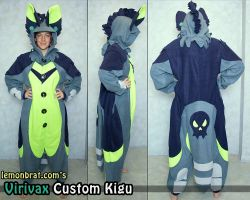 Virivax Custom Kigu by lemonbrat