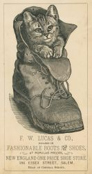Victorian Advertising - Puss In Boots by Yesterdays-Paper