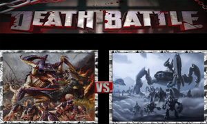 Tyranids vs. Covenant by ScarecrowsMainFan