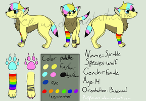 Sprinkle Pop Reference Sheet [OLD] by Piepaws