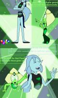 Peridot and her Pearl's little fight by K-daydream-112