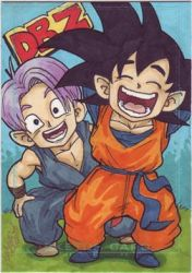 Trunks and Goten by britbrakdown