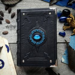 The Alchemist's small blue book. by MilleCuirs