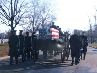 Arlington Military Funeral V by GregoriusU