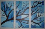 Winter to Spring Triptych by klbailey