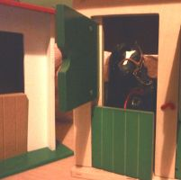 1/12 scale stable yard 2 by Louvan