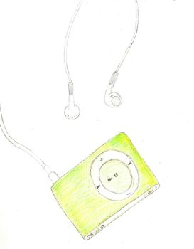iPod Shuffle by Nevermore09