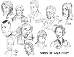 Sons Of Anarchy by c-t-supahfly
