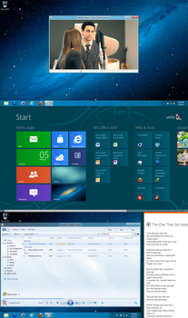 Windows 8 Consumer Preview by yethzart