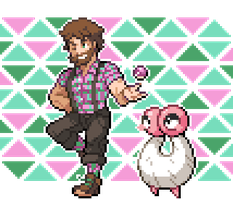 Atlas Gym Leader Chip wants to battle! by MyMarshlands